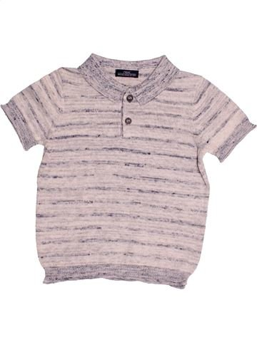 Polo de manga corta niño NEXT gris 9 meses verano #1484760_1