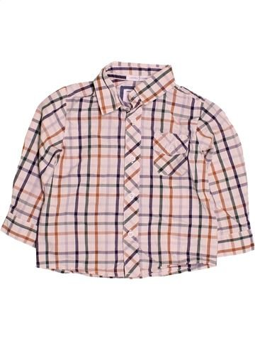 Chemise manches longues garçon JASPER CONRAN rose 2 ans hiver #1484999_1