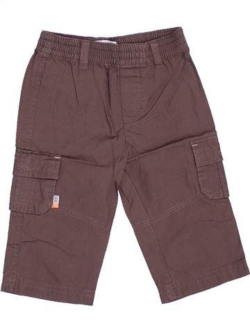Pantalon garçon GEMO gris 6 mois été #1485362_1