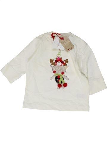T-shirt manches longues garçon NEXT blanc 3 mois hiver #1485445_1
