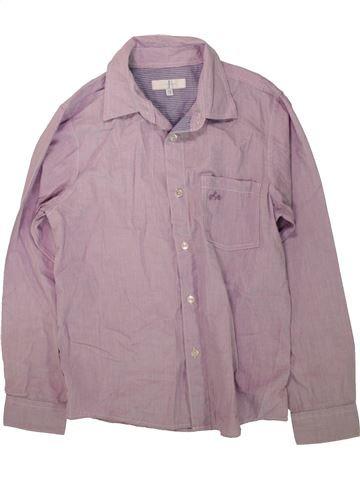 Chemise manches longues garçon JASPER CONRAN violet 13 ans hiver #1485545_1