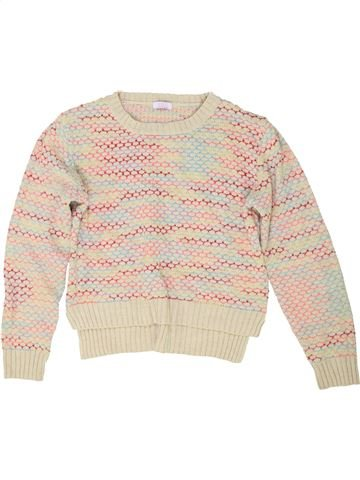 Pull fille KYLIE beige 13 ans hiver #1485656_1