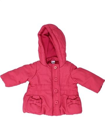 Manteau fille BABY rose 6 mois hiver #1485870_1