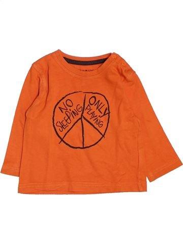 Camiseta de manga larga niño GRAIN DE BLÉ naranja 6 meses invierno #1485884_1