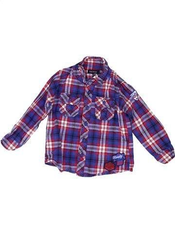 Chemise manches longues garçon BLUE SEVEN violet 2 ans hiver #1486007_1