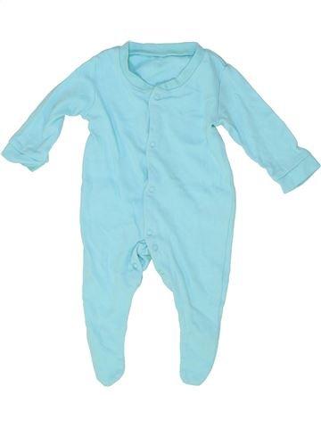 Pijama de 1 pieza niño SANS MARQUE azul 3 meses verano #1486097_1