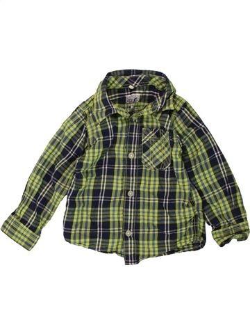 Camisa de manga larga niño NAME IT verde 18 meses invierno #1486133_1