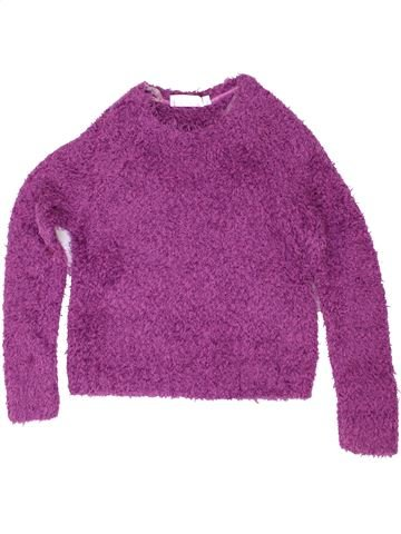 Pull fille TAMMY violet 13 ans hiver #1486137_1