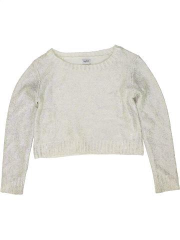 jersey niña KYLIE blanco 10 años invierno #1486161_1