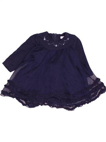 Vestido niña ABSORBA azul 6 meses invierno #1486327_1