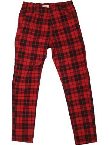 Pantalon fille LA REDOUTE CRÉATION rouge 7 ans hiver #1486362_1