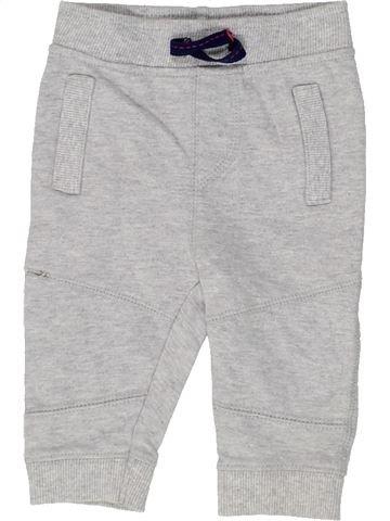 Pantalon garçon BLUEZOO gris 6 mois hiver #1486556_1