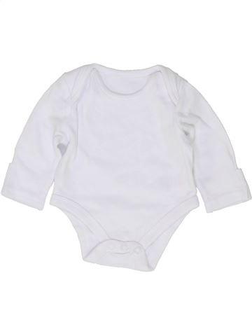 T-shirt manches longues unisexe SANS MARQUE blanc 1 mois hiver #1486690_1