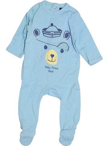 Pyjama 1 pièce garçon KIABI bleu 3 mois été #1486814_1