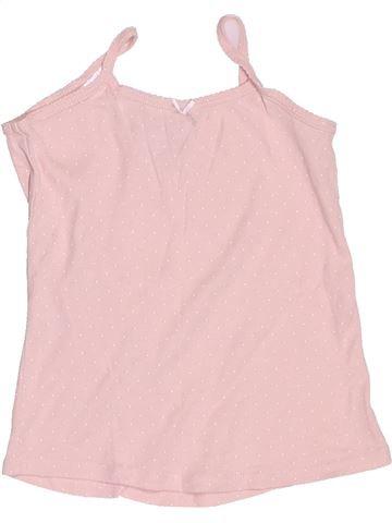 T-shirt sans manches fille LA HALLE rose 6 ans été #1487085_1