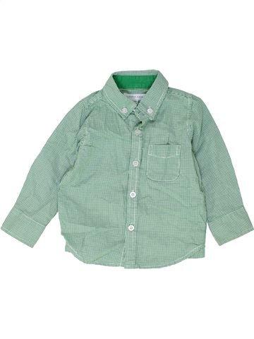 Chemise manches longues garçon PUMPKIN PATCH gris 18 mois hiver #1487227_1