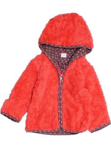 Gilet fille NAME IT orange 6 mois hiver #1487234_1