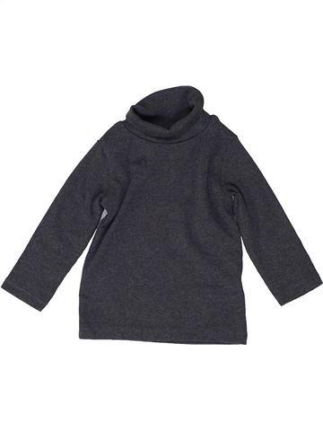 T-shirt col roulé fille NEXT bleu 9 mois hiver #1487304_1
