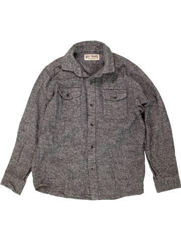 Chemise manches longues garçon NEXT gris 7 ans hiver #1487627_1