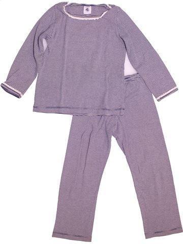 Pyjama 2 pièces fille PETIT BATEAU gris 4 ans été #1487701_1
