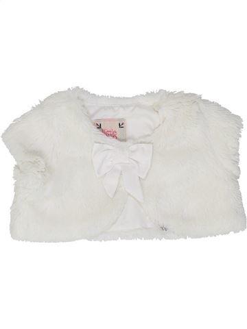 Chaleco niña DEBENHAMS blanco 3 meses invierno #1487742_1