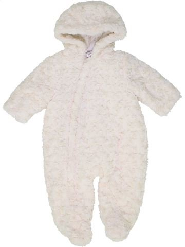 Combi-Pilote fille BABY blanc 6 mois hiver #1487792_1
