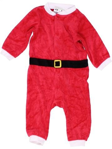 Combinaison longue garçon H&M rouge 6 mois hiver #1487862_1
