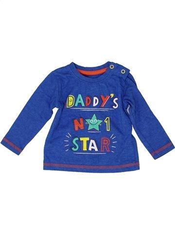 T-shirt manches longues garçon DUNNES STORES bleu 6 mois hiver #1487874_1