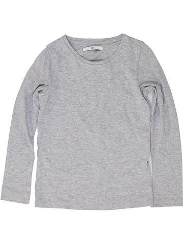 Camiseta de manga larga niño MARKS & SPENCER gris 9 años invierno #1487881_1