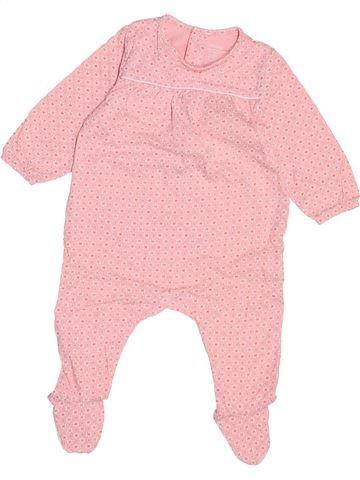 Pyjama 1 pièce fille OBAIBI rose 6 mois été #1487937_1