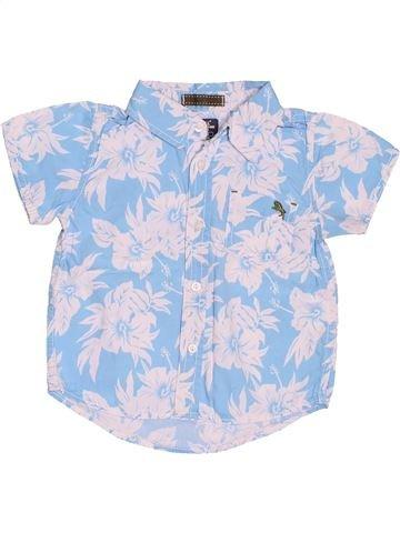 Chemise manches courtes garçon H&M bleu 2 ans été #1488089_1