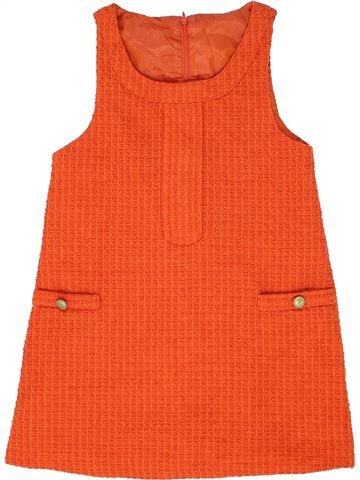 Robe fille DUNNES STORES orange 9 ans hiver #1488094_1