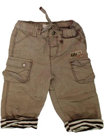 Pantalon garçon MAMAS & PAPAS marron 9 mois hiver #1488174_1