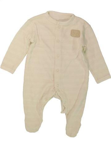 Pyjama 1 pièce garçon DUNNES STORES beige 3 mois été #1488197_1