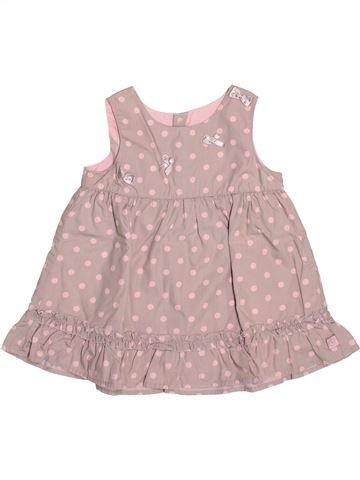 Vestido niña JEAN BOURGET rosa 6 meses verano #1488298_1