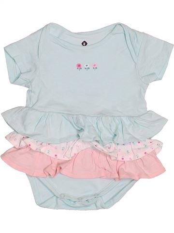Camiseta de manga corta niña GRAIN DE BLÉ blanco 3 meses verano #1488374_1