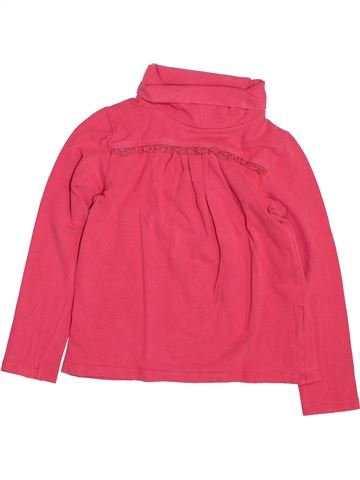 T-shirt col roulé fille LISA ROSE rose 5 ans hiver #1488698_1