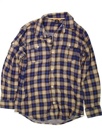 Chemise manches longues garçon GAP gris 13 ans hiver #1488733_1