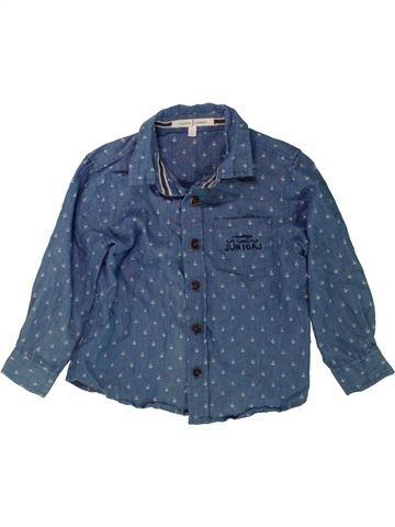 Chemise manches longues garçon JASPER CONRAN bleu 3 ans hiver #1488751_1