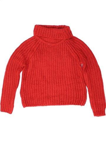 Pull fille MARKS & SPENCER rouge 11 ans hiver #1488808_1