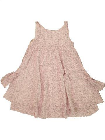 Robe fille OKAIDI beige 3 ans été #1488853_1