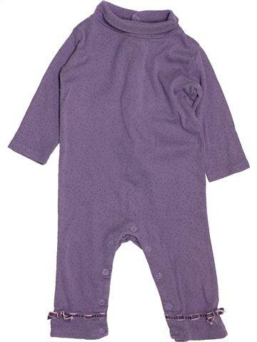 Combinaison longue fille SERGENT MAJOR violet 9 mois hiver #1488962_1