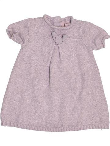 Vestido niña CYRILLUS gris 9 meses invierno #1488979_1