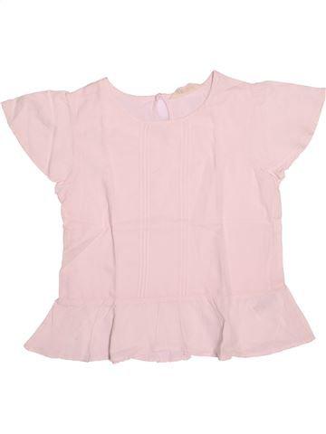 Blouse manches courtes fille H&M rose 12 ans été #1489301_1