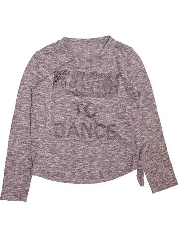 Pull fille DUNNES STORES gris 11 ans hiver #1489513_1