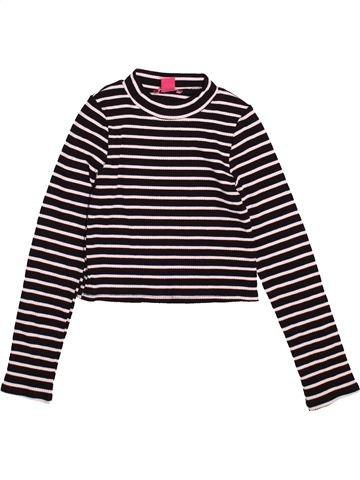 T-shirt manches longues fille PRIMARK marron 10 ans hiver #1489724_1