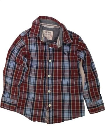 Camisa de manga larga niño JASPER CONRAN violeta 6 años invierno #1489745_1