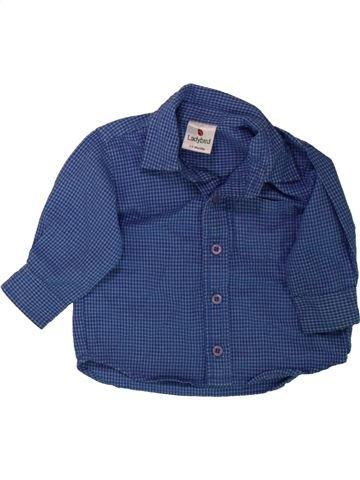 Chemise manches longues garçon LADYBIRD bleu 6 mois hiver #1489798_1