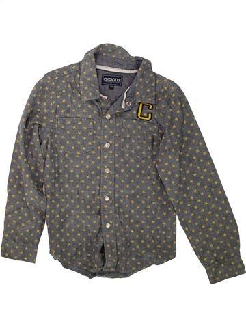 Camisa de manga larga niño CHEROKEE gris 8 años invierno #1489879_1