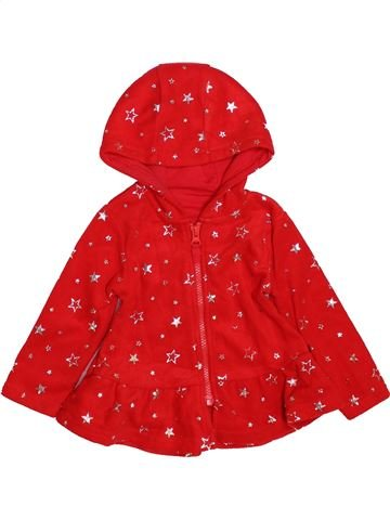 Gilet fille DUNNES STORES rouge 12 mois hiver #1489938_1